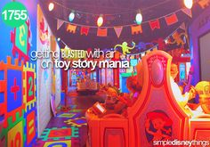 1755. Getting with air on Toy Story Mania