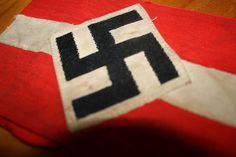 Used Origional Hitler-youth armband