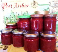 Szilvadzsem 🥭 Port Arthur, Mason Jars, Food, Essen, Yemek, Mason Jar, Glass Jars, Meals, Jars