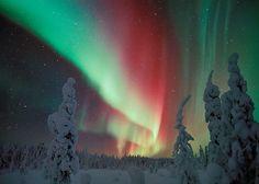北欧ラップランドの夜空に舞う 変幻自在なオーロラを堪能する|オーロラ輝くフィンランド北部で ラップランドの文化に浸る旅|CREA WEB(クレア ウェブ)