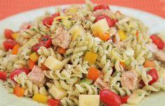 ΜΑΚΑΡΟΝΟΣΑΛΑΤΑ Salad Bar, Pasta Salad, Ethnic Recipes, Food, Crab Pasta Salad, Essen, Meals, Yemek, Eten