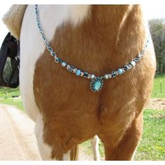 Rhythm Beaded Trinkett Necklace for Your Horse by HoughtonStudio, $69.00