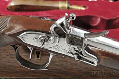 Cased French Flintlock Pistols | Sale Number 2856M, Lot Number 40 | Skinner Auctioneers