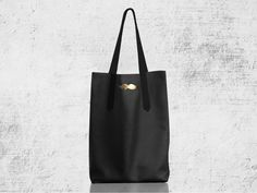 Shoulder Bags – GOLDEN MOUSTACHE BAG – a unique product by modeMania_Bags on DaWanda
