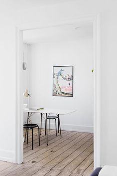 A creative couple in Copenhagen have a Reform Basis 01 kitchen in their bright apartment Home Office, Bright Apartment, Interior Architecture, Interior Design, Ikea Hack, Copenhagen, Countertops, Mid-century Modern, Beautiful Homes