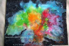 N.Jthornhill, Nebula Flora on ArtStack #n-jthornhill #art