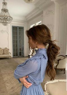 RÊVERIE PARISIENNE #mode Work Hairstyles, Holiday Makeup, Glam Makeup, Hair Makeup, Hair Inspo, Hair Inspiration, Hair Day, Pretty Outfits, Pretty Clothes