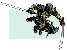 Ronin by Andy MacDonald Marvel Comic Books, Comic Movies, Marvel Art, Marvel Comics, Marvel Universe Characters, Serie Marvel, Heroes For Hire, Arte Nerd, Deadpool And Spiderman