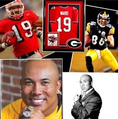 Hines Ward- UGA/ Pittsburgh Steelers