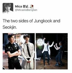 The maknae and the eldest