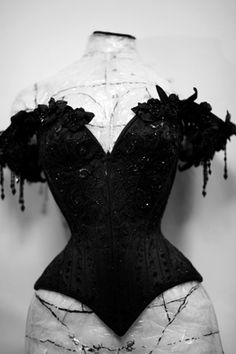12 festival for fashion & photography - Fashion Intervention. Stunning corset from Mr Pearl, haven't seen this shot before.