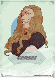 Cersei Lannister - Game of Thrones - Mohammed Agbadi