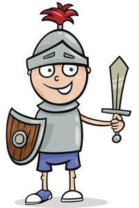 Ritterparty ist ein tolles Motto zum Kindergeburtstag. Hier gibt's Ideen für die Party und die Einladung zum Rittergeburtstag. © Thinkstock