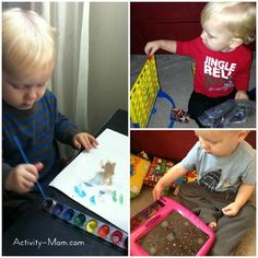 The Activity Mom: Playing and Learning with Your 20 Month Old