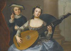 Anna Rosina von Lisiewska | AN ALLEGORY OF HEARING | Sotheby's