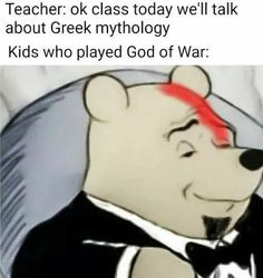 Teacher: ok class today we'll talk about Greek mythology Kids who played God of War: - iFunny :) Dankest Memes, Funny Memes, Sarcastic Memes, Hilarious Texts, Funny Quotes, Sarcasm Quotes, Sarcasm Humor, Funny Facts, Stupid Funny