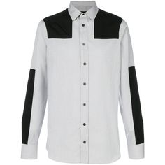 Alexander McQueen micro check shirt ($1,035) ❤ liked on Polyvore featuring men's fashion, men's clothing, men's shirts, men's casual shirts, black, mens cutaway collar dress shirts, mens checked shirts, mens cotton shirts and mens checkered shirts