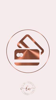 Instagram Logo, Instagram Feed, Boutique Interior, Manicure Rose, Barbie Store, Logo Online Shop, Rose Gold Aesthetic, Rose Gold Theme, Nail Salon Design