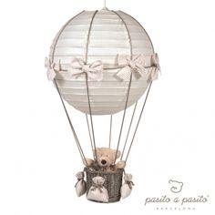 Babyzimmerlampe Heissluft Ballon Vichy beige