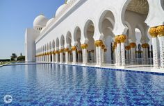 Great mosque, Abu dhabi http://orestegaspari.com/gallery/around-the-world/