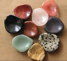 worry stones ~ palm & thumb stones