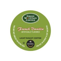 Green Mountain Coffee K-Cup Portion Pack for Keurig K-Cup Brewers,  French Vanilla (Pack of 96) - http://teacoffeestore.com/green-mountain-coffee-k-cup-portion-pack-for-keurig-k-cup-brewers-french-vanilla-pack-of-96/
