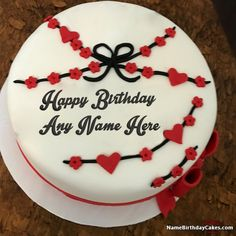 A new way to wish birthday to your loved ones. Get happy birthday cake with photo and name from our website. Try ones, surely you will love it.
