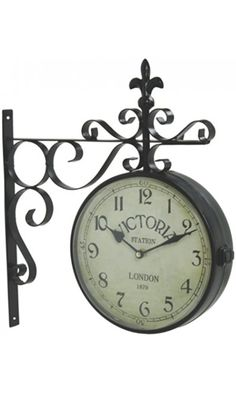 Vintage Victoria Station Railway Station Clock London - Reproduction Best Price