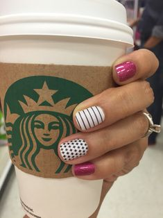 Fierce Fushia Country Club Matte and Good Vibes Jamberry Nail Wraps Buy 3 Get 1 FREE roxannewraps. Get Nails, Love Nails, How To Do Nails, Pretty Nails, Hair And Nails, Uñas Jamberry, Jamberry Nail Wraps, Short Nail Designs, Nail Art Designs