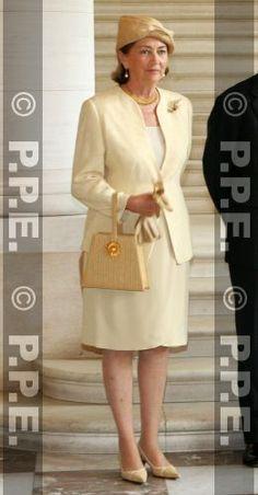 Queen Paola of Belgium, July 12, 2007