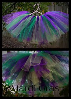 Everyone needs a Mardi Gras tutu.
