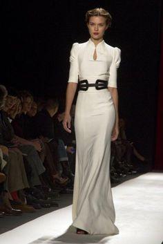 Vestidos de noche - Carolina Herrera Presentado en Semana de la Moda de Nueva York 2013 Temporada Otoño - Invierno 2013-2014 #siyofueraalosgoya
