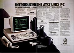 ATT Unix PC Ad (Computerworld 1985).