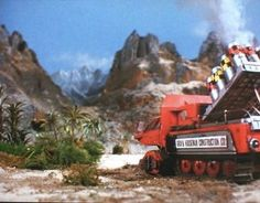 Thunderbirds Are Go, Science Fiction, Bridge, Cinema, Scene, Train, Disney, Vintage, Sci Fi