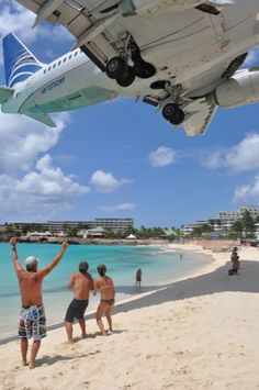 maho beach, st maarten. still #1 for our honeymoon spot & this picture tells why.