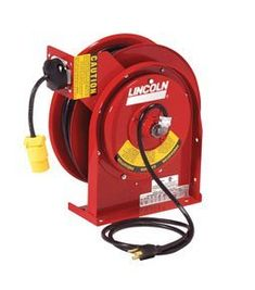 Lincoln Lubrication (LIN91030) Heavy Duty Power Cord Reel by Lincoln. $288.95. Cord is cold weather compatible – grease, oil and water resistant  Available with fluorescent light, with and without power tap, single outlets, dual GFCI outlets  Spring retractable with latch  Engineered for heavy-duty, industrial use  Adjustable cord stop  Wall, ceiling or bench mount  Perfect for vehicle maintenance and industrial environments  Cord Type/Length: SJTOW / 50 ft.  Cord Thickness:...