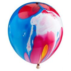 £1 Illoom Marble Effect  Ballons 2 Pack