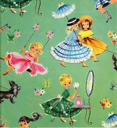 The Paper Collector: Vintage gift wrap