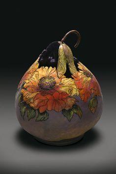 Whitney Peckman | Gourd Art  |  Flowers
