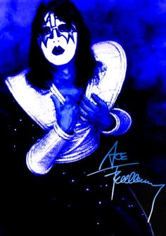 Kiss - Ace Frehley Kiss Memorabilia, Kiss World, Kiss Art, Ace Frehley, Singers, Legends, Bands, Comics, Music