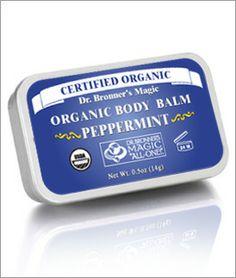 Dr. Bronner's Organic Peppermint  Body Balm