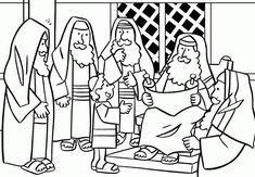 19 Best Jesus In The Temple Images Bible Coloring Pages Sunday