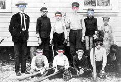 Cool Kids 1901 - Digital Collage