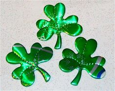 Luck of the IrishRecycled Soda Can Art Small Trio of  by apmemory, $4.75