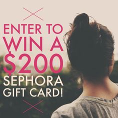 Sephora Giveaway: Win a $200 Gift Card! - Collective Beauty