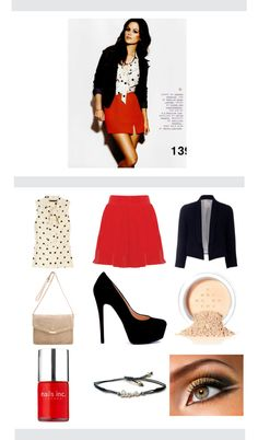 Polka Dot Business Attire, created by jmcgee330 on Polyvore