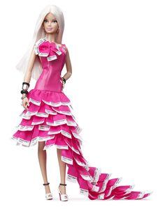 Barbie Collector # W3376 Pink in Pantone