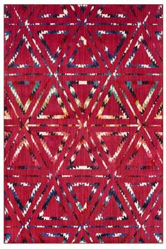 The Capri range is vibrant in colour and inviting in design and will liven up what used to be a dull space. Geometric Designs, Bohemian Rug, Capri, Vibrant, Range, Flooring, Colour, Contemporary, Space