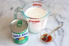 ice cream maker No Churn Ice Cream Recipe: This recipe is a game changer! With just three ingredients, you can make fantastic and creamy vanilla ice cream at home with absolutely no chu Milk Ice Cream, Ice Cream At Home, No Churn Ice Cream, Ice Cream Maker, Vanilla Ice Cream, Cream Cake, Ice Cream Treats, Ice Cream Desserts, Frozen Desserts