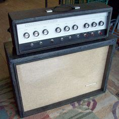 Silvertone Twin Twelve 1484 Guitar Amplifier